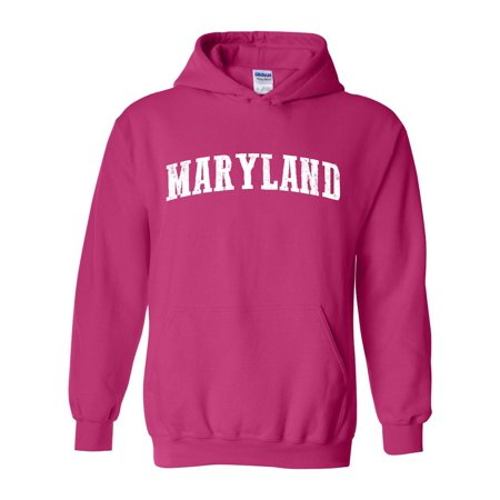 J_H_I MD Maryland Map Baltimore Flag Terrapins Terps Home University of Maryland  Unisex Hoodies Sweater