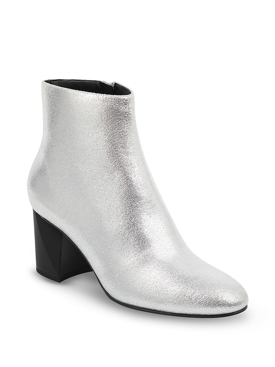 Hadlee Metallic Ankle Boots