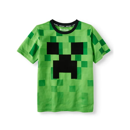 Riding Boys T-shirt (Minecraft
