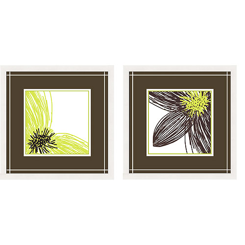 Close Up Wall Decor, Set of 2