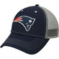 b219dc600101e Product Image Men s Navy New England Patriots Explore Adjustable Hat - OSFA