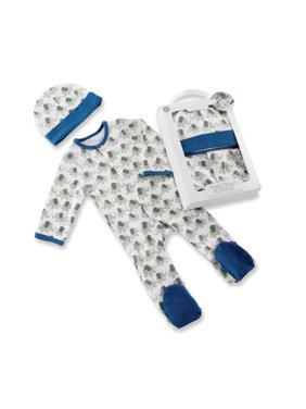 290ffbc83 Baby Boys One-piece Pajamas - Walmart.com