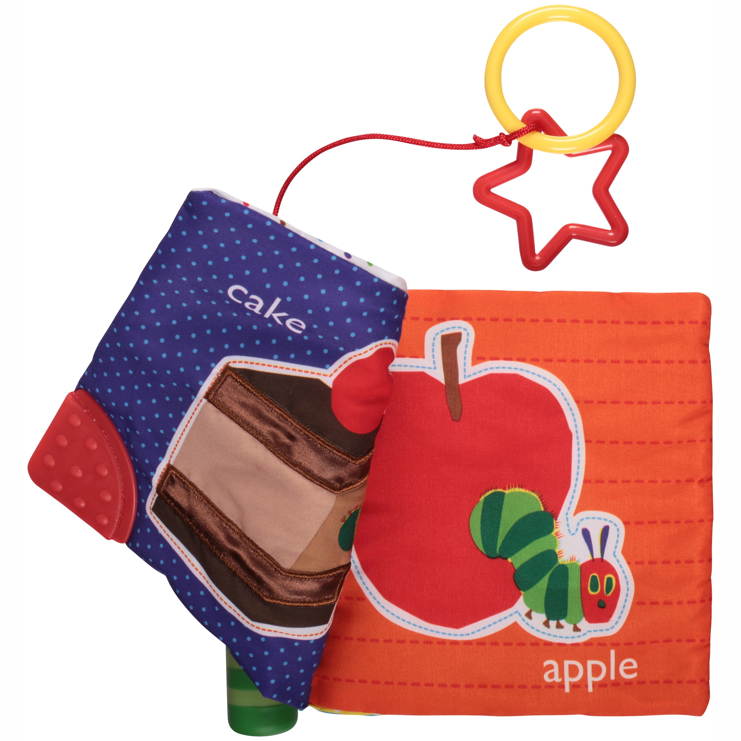 The World of Eric Carle™ The Very Hungry Caterpillar™ Soft Teether Book