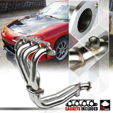 Stainless Steel Exhaust Header Manifold for 98-02 Ford Escort 2.0 121 I4 Zetec 99 00 01 02 02 Ford Escort Base