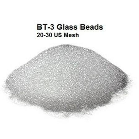 BLAST-O-LITE BT-3 Glass Bead Media, 20-30 Mesh (10 lbs)