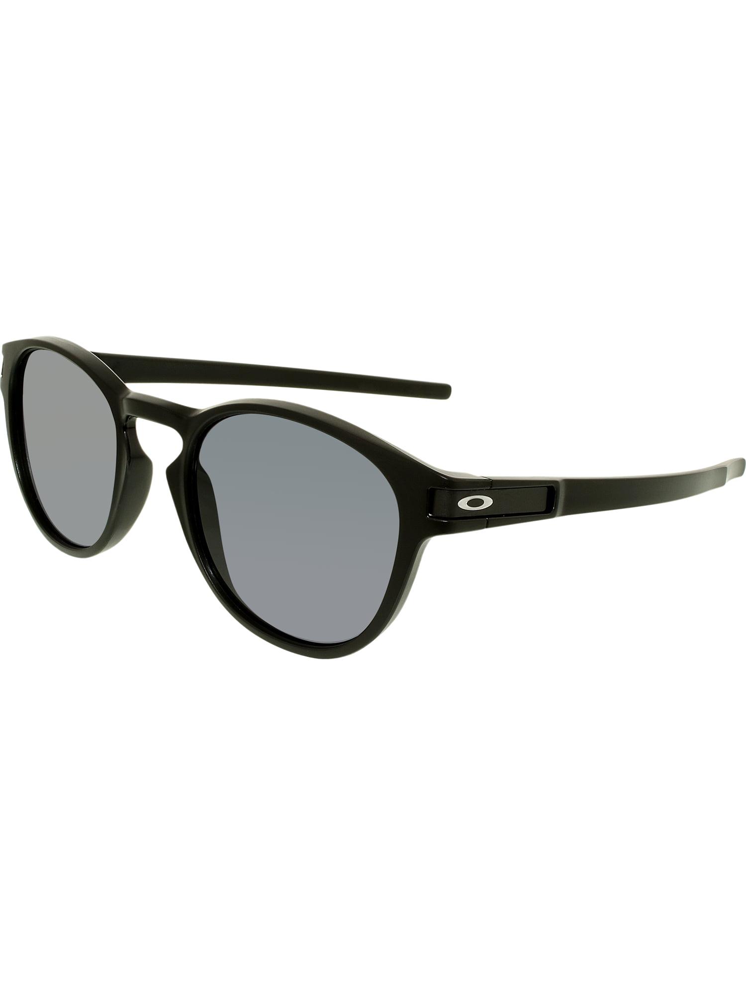 9700c7f8594 Oakley Men s Latch OO9265-01 Black Round Sunglasses