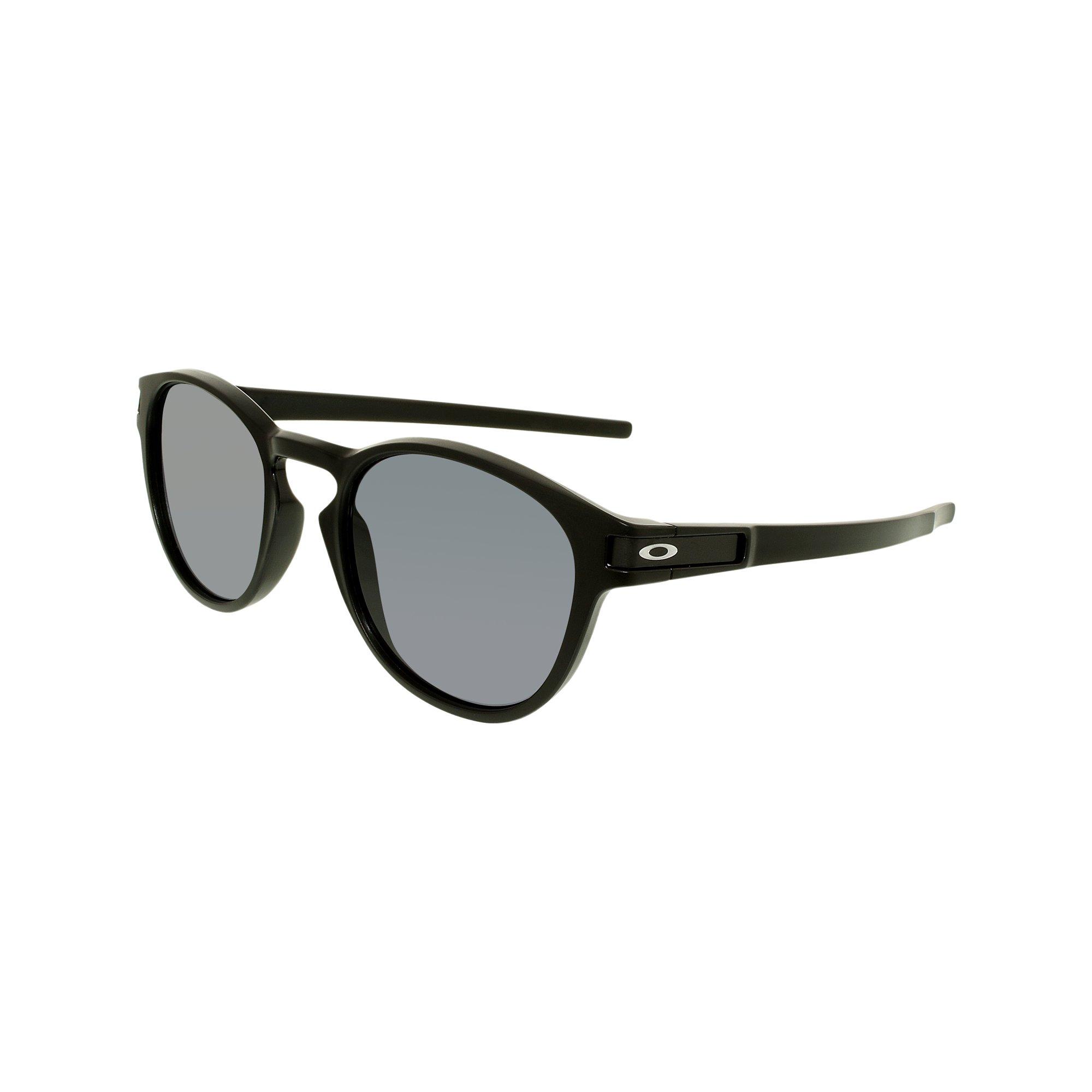 1f8d99bea6 Oakley Men s Latch OO9265-01 Black Round Sunglasses