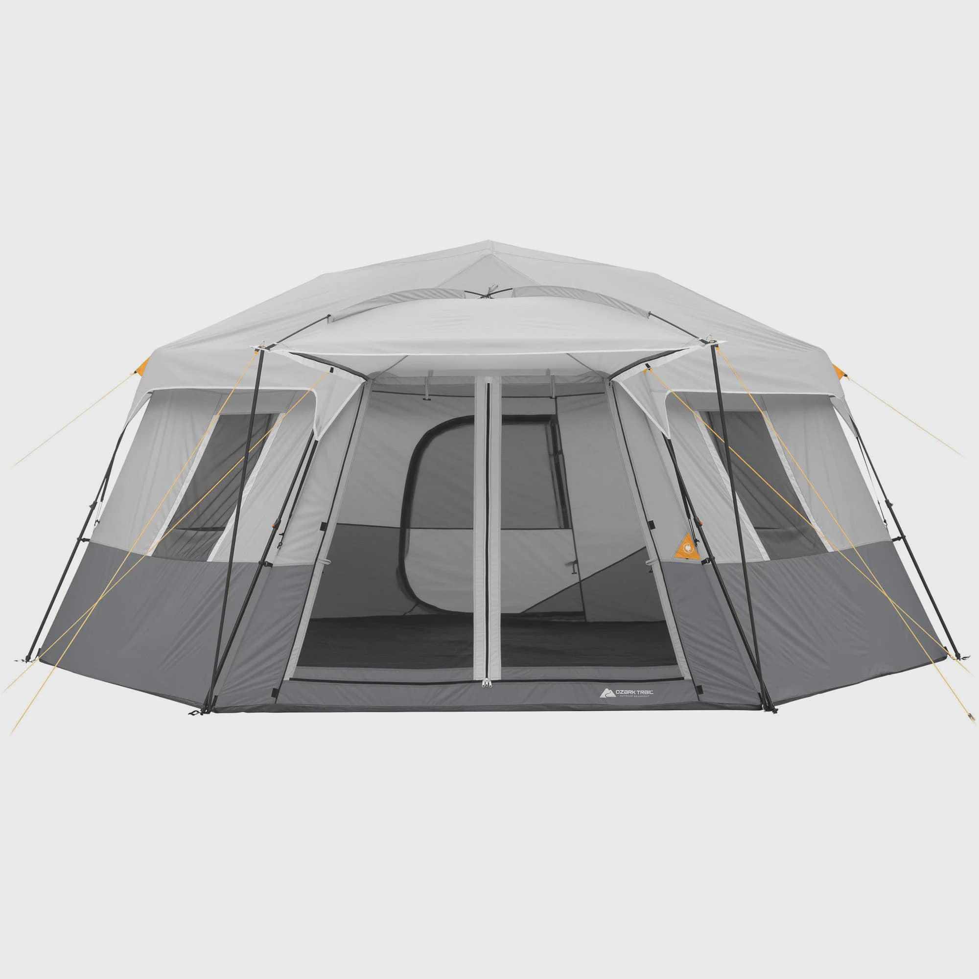 Click here to buy Ozark Trail 17' x 15' Person Instant Hexagon Cabin Tent, Sleeps 11 by Bohemian Travel Gear Limited.