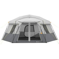 Ozark Trail 17' x 15' Person Instant Hexagon Cabin Tent