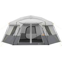 Ozark Trail 17 x 15 11-Person Instant Hexagon Cabin Tent