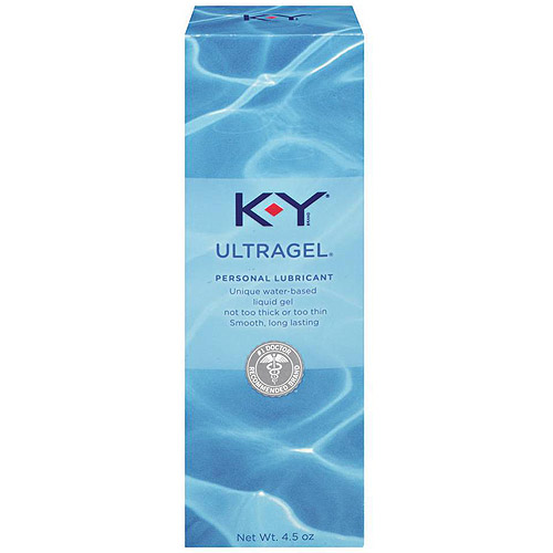 K-Y Ultragel Personal Water Based Lubricant Gel - 4.5 oz
