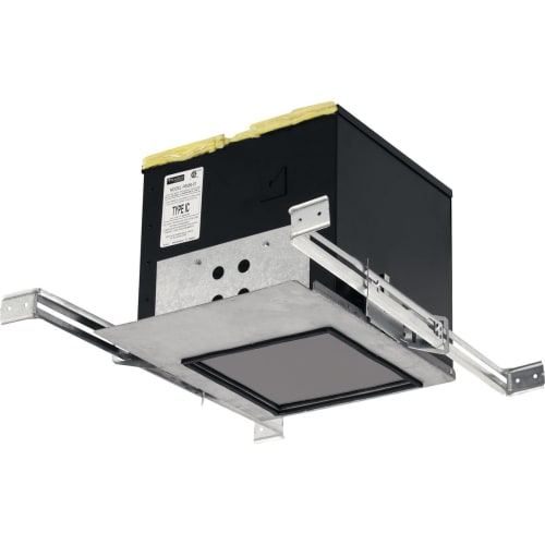 """Progress Lighting P8556-LED Recessed LED 2"""" IC Recessed Housing Box with Bar Hangers"""