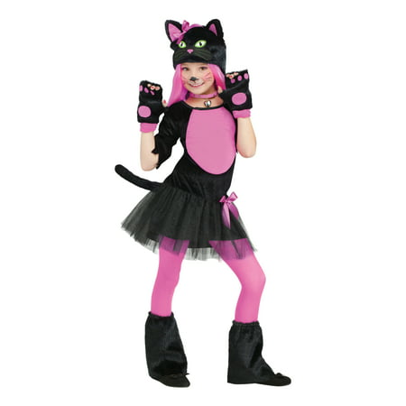 Friday 13 Halloween Costumes (Fun World Miss Kitty Girl's Halloween)