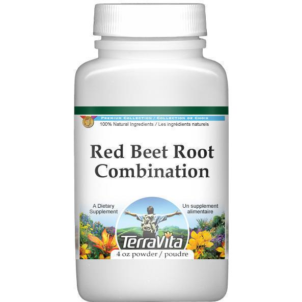 Red Beet Root Combination Powder - Red Beet, Licorice Roo...