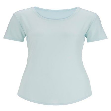 Edwards Women's S/s Jewel Neck Shirt, Style 5420 (Jewel Styles)