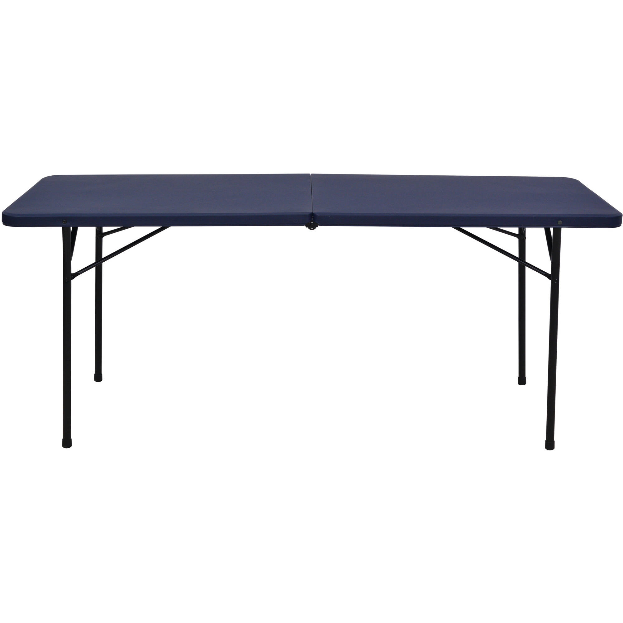 Mainstays 6u0027 Fold In Half Tailgate Table, Multiple Colors   Walmart.com