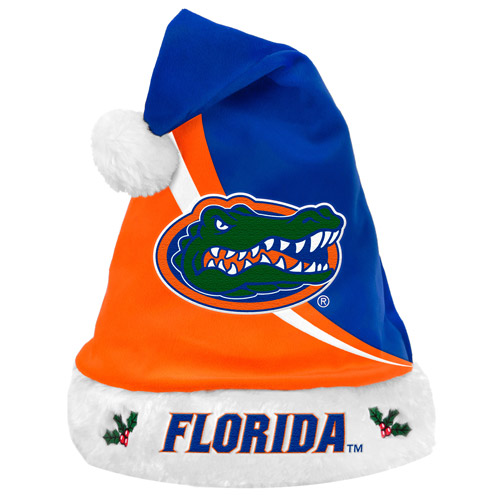Forever Collectibles NCAA Swoop Logo Santa Hat, University of Florida Gators