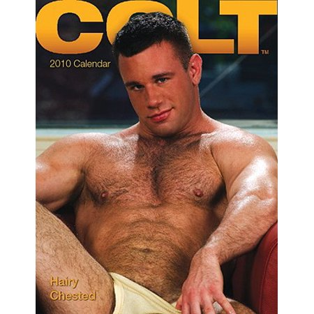 Colt Hairy Chested Calendar With Poster Walmart