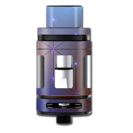 Skin Decal For Smok Mini Tfv8 Big Baby Beast Tank Vape Mod / Vector Weird Digital Glass
