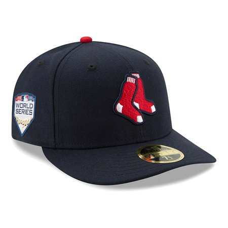 Boston Red Sox New Era Alternate 2018 World Series Bound Side Patch Low Profile 59FIFTY Fitted Hat - Navy
