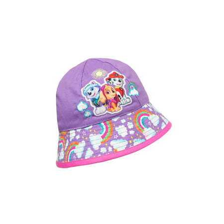 Paw Patrol Baby Toddler Girl Bucket Hat - Skunk Hat With Paws
