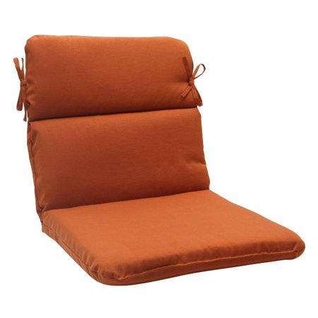 40 5 cinnamon burnt orange outdoor patio round wicker for Burnt orange chaise lounge