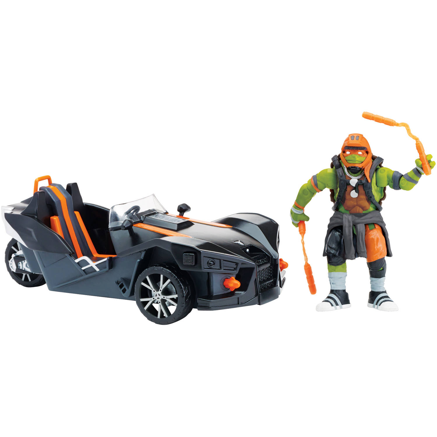 Teenage Mutant Ninja Turtles Out of the Shadows Michelangelo Figure with Polaris