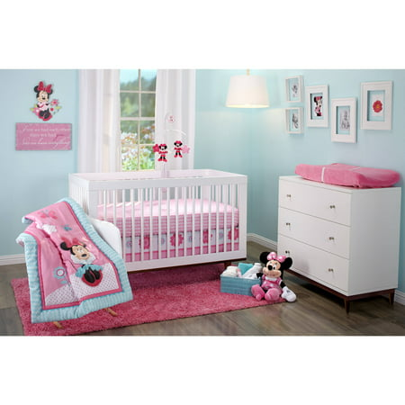Disney Minnie Happy Day Infant Bedding Collection - Value ...
