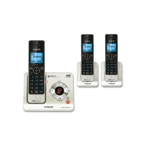 Vtech LS6425-3 DECT 6.0 Cordless Voice Announce Answering System VTELS64253