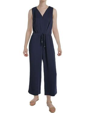 Lauren Ralph Lauren Womens Lianfa Cropped Wide Leg Jumpsuit