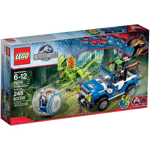LEGO Jurassic World 4x4