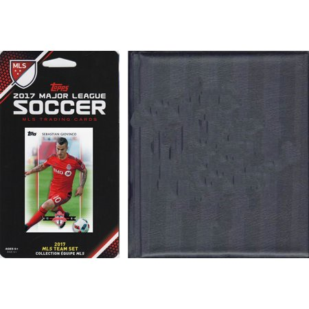 MLS Toronto FC Licensed 2017 Topps Team Set and Storage Album