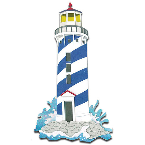 Jolee's Boutique Dimensional Stickers, Lighthouses