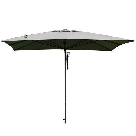 Sorara 10 By 10 Ft Patio Umbrella Aluminum Market Outdoor Table