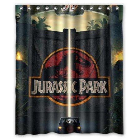 Jurassic Park Door Custom Create Design Your Own Waterproof Shower