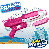 RINCO Shark Water Soaker Summer Blaster Toy Set of 2