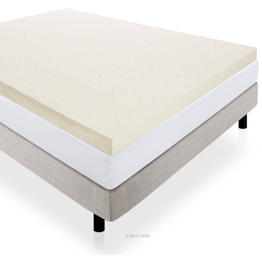 Serta 4 Pillow Top And Memory Foam Mattress Topper Queen
