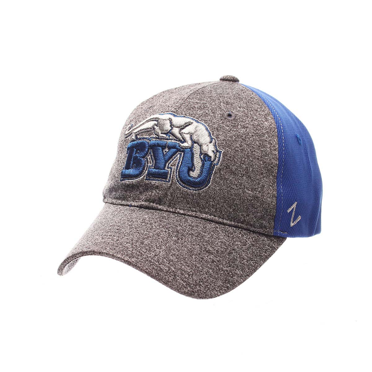 BYU Cougars Womens Harmony Snapback Hat (Gray) by Zephyr