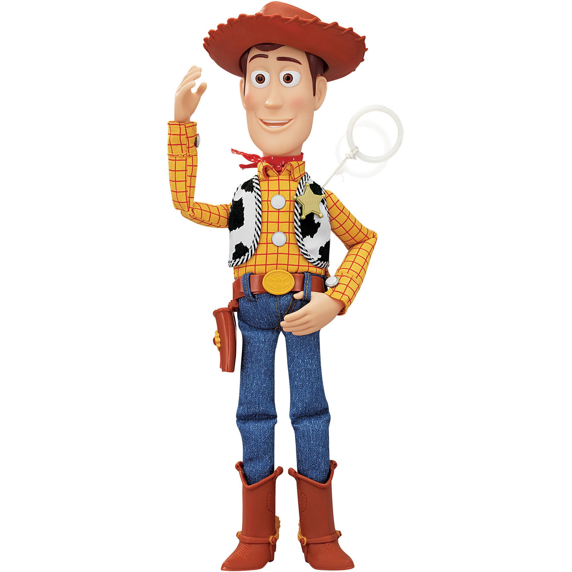 Disney - Toy Story Talking Sheriff Woody Action Figure