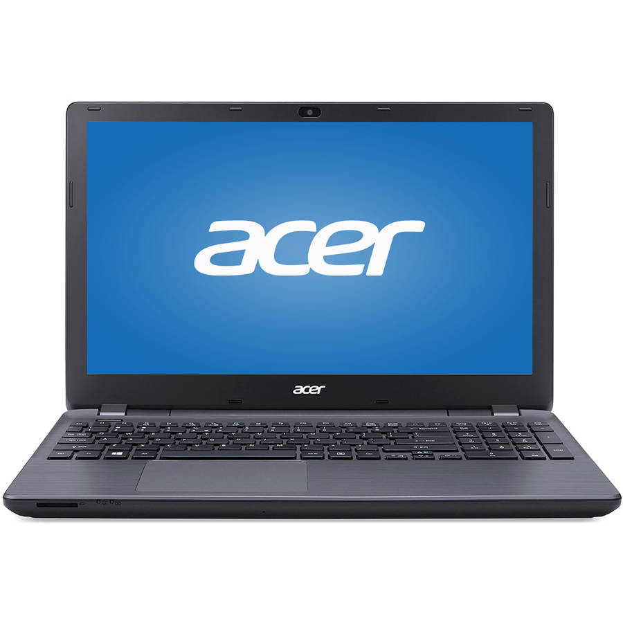 "Refurbished Acer Midnight Black 15.6"" Aspire E5-571P-59QA Laptop PC with Intel Core i5-4210U Processor, 4GB Memory, 500GB Hard Drive and Windows 8.1 (Eligible for Free Windows 10 Upgrade)"