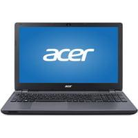 "Refurbished Acer Midnight Black 15.6"" Aspire E5-571P-59QA Laptop PC with Intel Core i5-4210U Processor, 4GB Memory, 500GB Hard Drive and Windows 8.1 (Eligible for Free Windows 10 Upgrade)"