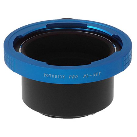 Fotodiox Pro Lens Adapter, Arri PL Mount Lens to Sony E-mount Mirrorless Camera such as NEX VG-10, (Arri Video Pro Bank)
