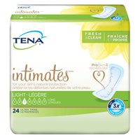 TENA Intimates Ultra Thin Light Pads Pant Liner Bladder Control Pads, Long, 144 Ct