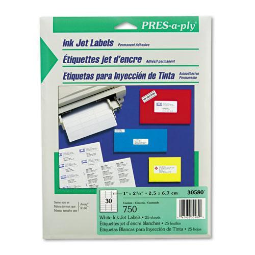 Inkjet Address Labels AVE30580