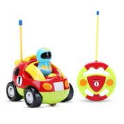 Kids Cartoon Remote Control RC Police Car and Race Car
