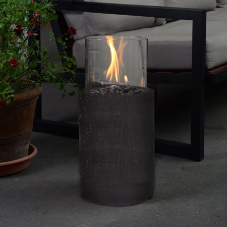 Bronze 19 Quot Lp Gas Fire Pit Column Walmart Com