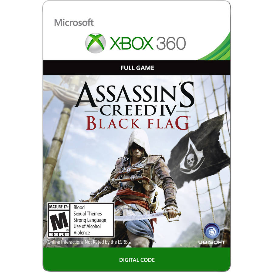 Xbox 360 Assassin's Creed IV (email delivery)