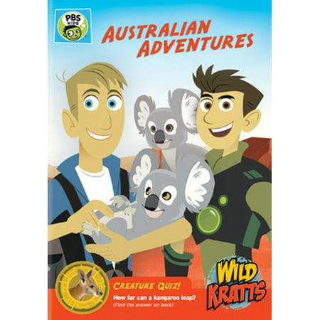Wild Kratts: Australian Adventures (DVD) (Wild Adventure Halloween 2017)