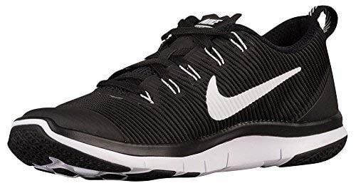 Nike Men's Free Train Versatility TB Running Shoes, Black/White-Black, 7.5 D US