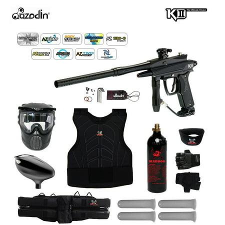 Azodin KDII Semi-Auto Starter Protective CO2 Paintball Gun Package~Purple / Pink